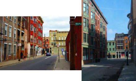 14th Street, OTR - Before and After restoration