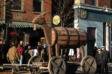 "Bockfest Parade 2010 by flickr user ""bockfest"""