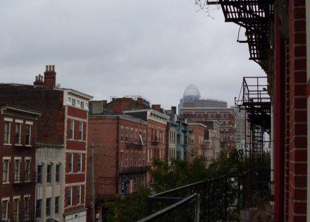 Overlooking Main Street OTR, by Frank Hibrandt