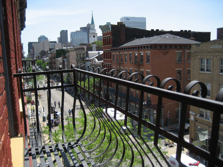 View of Main Street during Second Sunday on Main, OTR - credit: flickr user bousinka