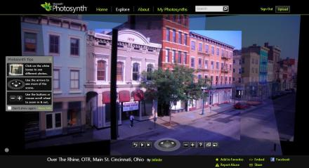 Photosynth of Main Street, Over-the-Rhine