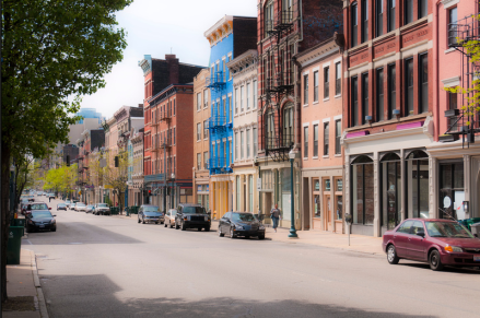 Main Street, OTR as photographed by well-known New Urbanist Steve Mouzon