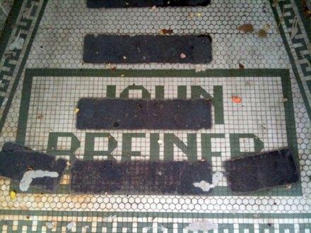 John Breiner ghost tile