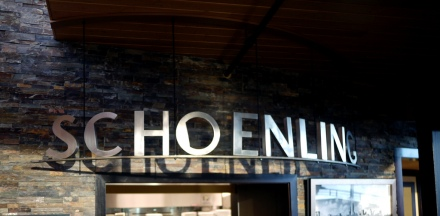 Schoenling sign typeface, photo via 5chw4r7z