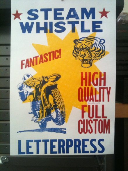 Steam Whistle Letterpress and Design (1)