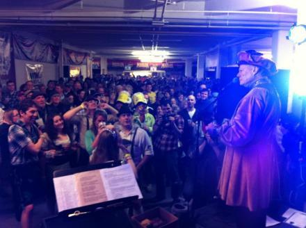 Jim Tarbell at Bockfest Hall via Chris Seelbach