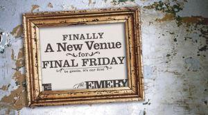 Final Friday OTR @ The Emery