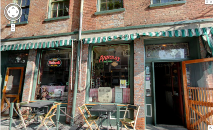 Arnold's Bar and Grill on Street View 5