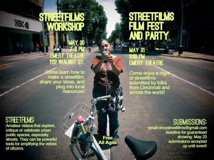 Cincinnati Streetfilms Film Festival